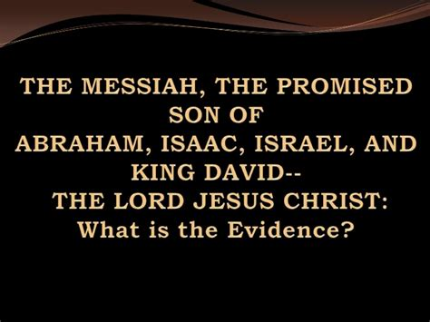 presenting jesus the of israel a commentary on the gospels volume i books the messiah the promised of abraham isaac israel