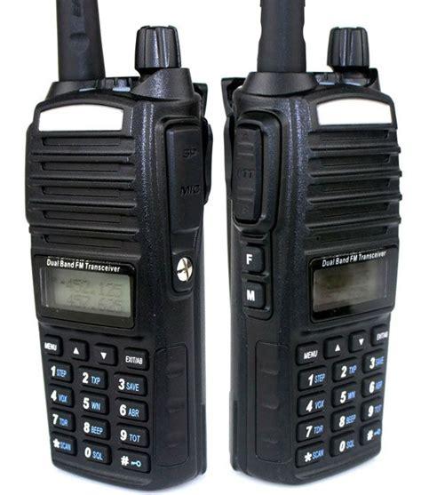 Walkie Talky Ht Handy Talkie Baofeng Uv82 Radio Komunikasi Terbaru handheld baofeng uv 82 two way radio 8 watt range pmr walkie talkie buy walkie talkie