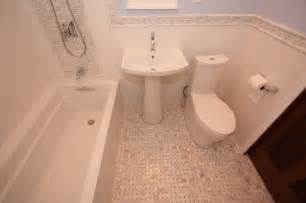 Bungalow bathroom in lace traditional bathroom chicago by
