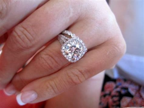 5 Rings For Your Pretty Fingers by Halo Wedding Ring And Engagement Rings On