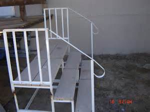 mobile home stairs for home photos mobile home steps