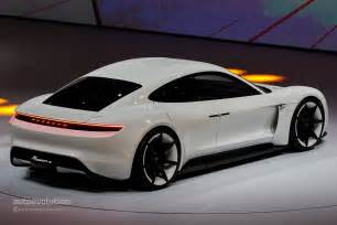 Porsche Electric Car History Porsche Mission E Gets Production Green Light Coming By