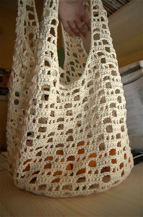 free crochet pattern net bag summer crochet and knit go the japanese way karmology
