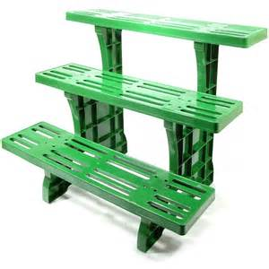 Patio Plant Stands 3 Tier Etagere Potted Plant Display Stand For Indoor