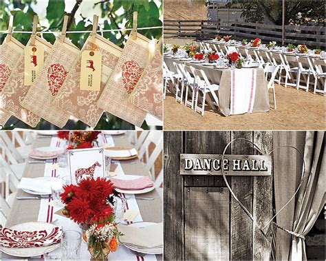 western wedding ideas western outdoor wedding ideas