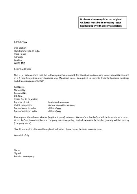 Business Letter Template business letter format uk document blogs