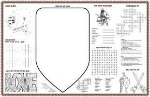 skip the tablecloths wacky wedding placemats for the win