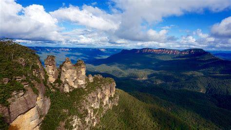 blue mountains nsw blue mountains national park nsw australia 1920x1080