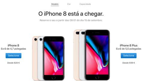 e iphone 8 plus iphone 8 e iphone 8 plus pre 231 o e data em portugal