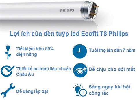 Lu Philips Led Ecofit 1200mm 16w 765 T8 Putih b 211 ng đ 200 n ecofit ledtube 1200mm 16w 765 t8 ap c g
