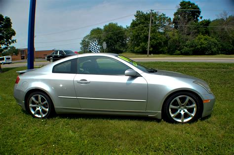infiniti car coupe 2004 infiniti g35 silver sport coupe used car sale