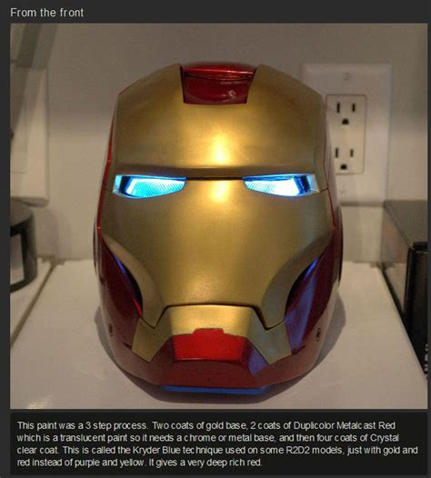 larainy days the iron lady and her helmet how to build your own iron man helmet others