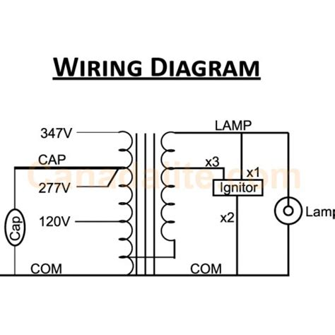 pulse start metal halide ballast wiring diagram pulse