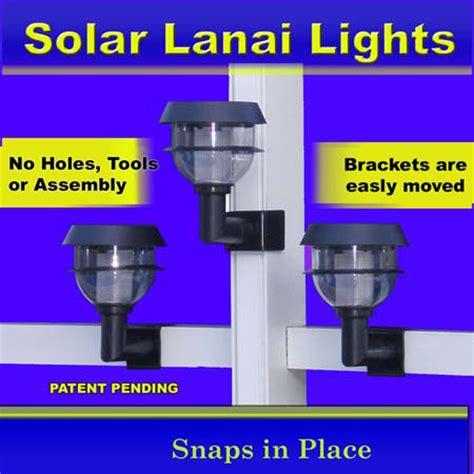 clip on solar lights clip on solar lanai lights solar pool cage lights
