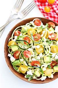 Pasta Salad Pesto summer zucchini noodle salad two peas amp their pod