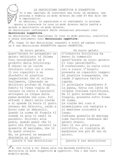 descrizione oggettiva della descrizione oggettiva e soggettiva by castro issuu