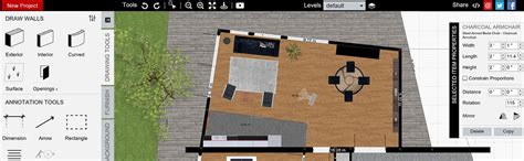 Mac Free App How To Arrange Furniture Open Floor Plan