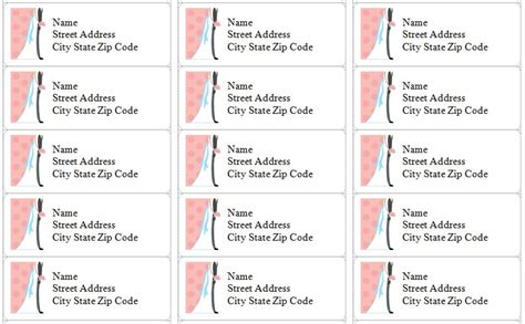 Free Printable Address Labels Templates Vastuuonminun Address Label Templates