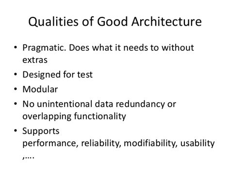 why we need architects and architecture on agile projects