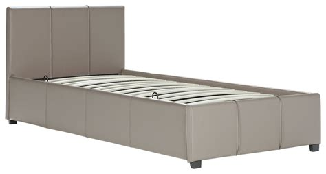 Side Opening Ottoman Bed Sale On Hygena Hendry Small Side Opening Ottoman Bed Latte Hygena Now Available Our Bes