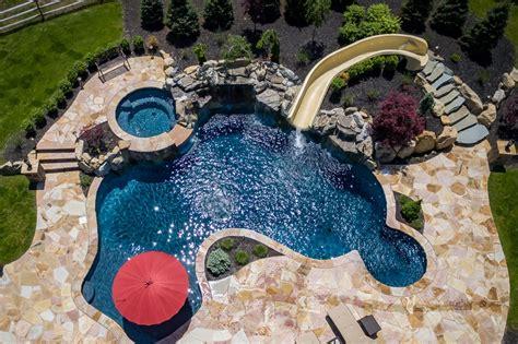 pools by design gunite pools nj spas custom inground swimming pools