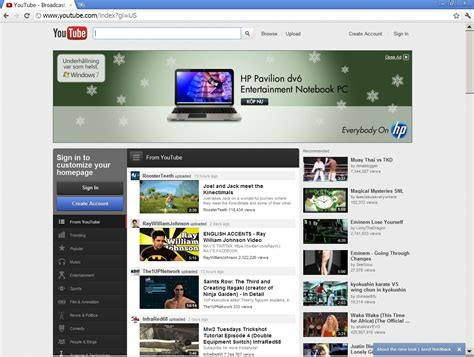 new layout in youtube keyinfoblog the new webpage design of youtube the