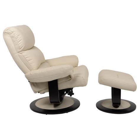 armchair and stool luxury cream relaxer chair recliner armchair with foot stool