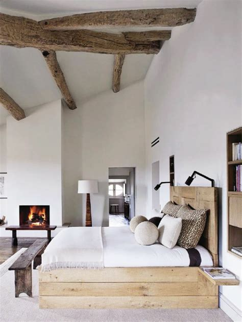 Modern Rustic Bedroom | modern rustic bedroom retreats mountainmodernlife com