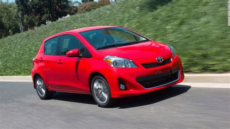 subcompact cars subcompact cars toyota yaris most reliable cars