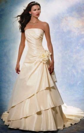 imagenes de vestidos de novia con olanes vestidos de novias re lindos taringa