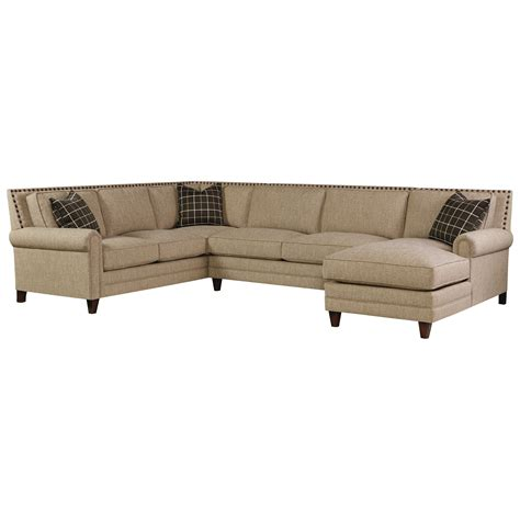Bassett Sectional Sofa by Bassett Harlan Sectional Sofa With 5 Seats 1 Is A Chaise