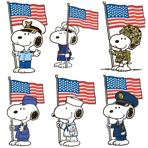 Snoopy That Navy snoopy snoopy salutes veterans armed forces