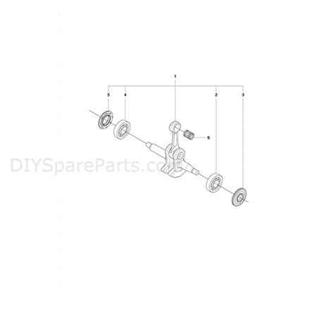 husqvarna 435 parts diagram husqvarna 435 chainsaw 2011 parts diagram crank shaft