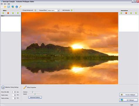 desktop themes maker software animated wallpaper maker free download animated