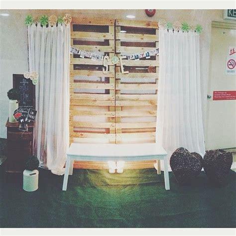 Wedding Backdrop Malaysia by Wedding Pelamin Wedding Dais Dais Diy Pallet Rustic