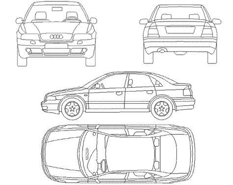 car templates for autocad autom 243 viles en 2d 4 vistas archives p 225 gina 7 de 8