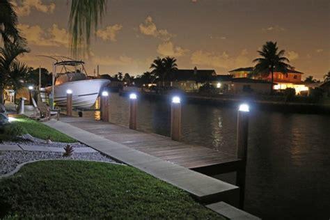 led dock piling lights lake lite solar piling lights black solar piling lights