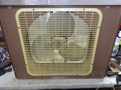 20 inch window fan metal box fan shop collectibles daily