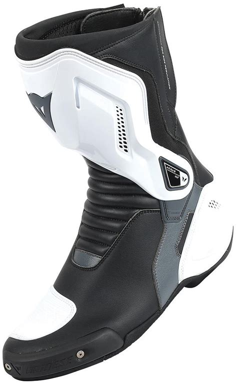Handgrip Dainese dainese nexus mens motorcycle boots black white anthracite gray