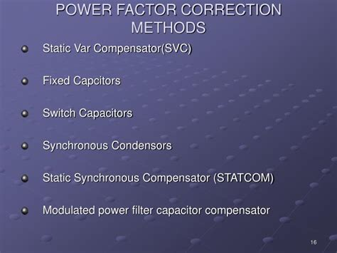 power factor correction ppt presentation ppt power factor correction powerpoint presentation id 3035976