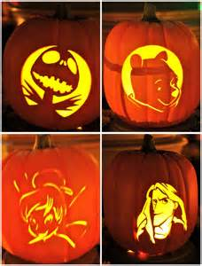 Disney Halloween Pumpkin Carving Patterns - disney sisters pumpkin carving disney style