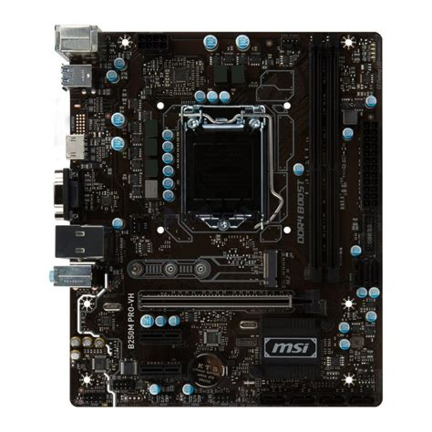 Motherboard Msi B250m Pro Vh by Msi Z270 H270 B250 Motherboard Lineup Leaked
