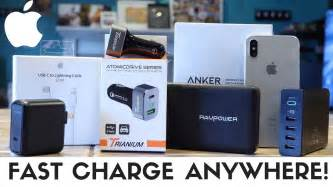 best iphone xs iphone xr fast charging accessories