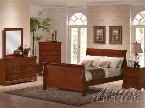 cherry oak bedroom set cherry oak finish cal king bedroom set new acme 00384ck set 899 162nd ave