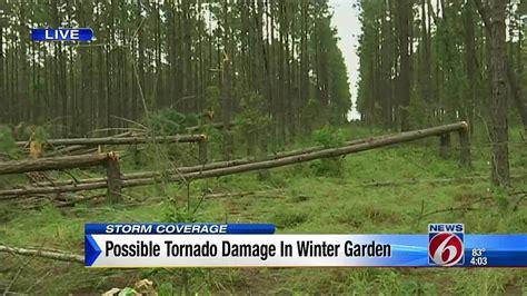Winter Garden Florida Weather by Possible Tornado Damage In Winter Garden