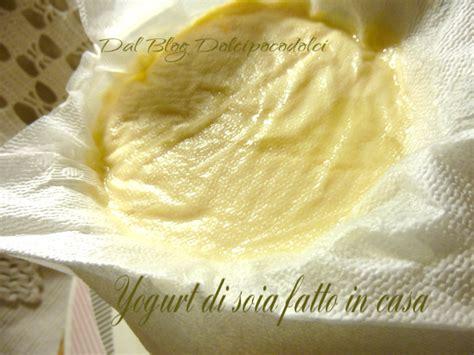 yogurt di soia fatto in casa come fare lo yogurt di soia
