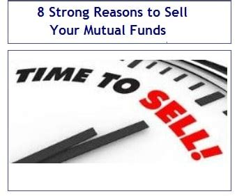 8 Reasons Not To Hit Your by 8 Strong Reasons To Sell Your Funds