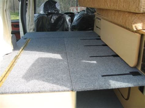fold down bench seat for van 17 best images about cing beds on pinterest futon