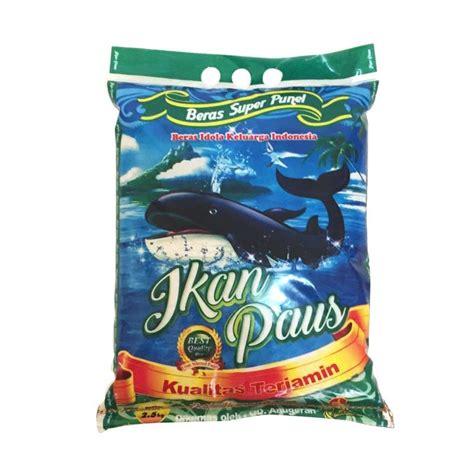 jual groceries ikan paus beras 2 5 kg