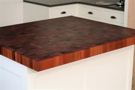 Kitchen Island With Chopping Block Top by Mahogany Butcher Block Countertops In Newton Massachusetts